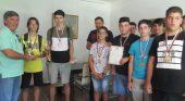 Директорът поздрави бронзовите ни медалисти по хандбал