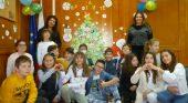 Коледна елха на професиите с учениците от 4б клас