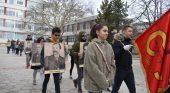 Славейковци поведоха шествието на Националния празник