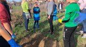 """Седмокласници участваха в инициативата """"Посади дърво, открий корена си"""""""