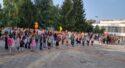 Семейството на Славейковци посрещна с усмивки и настроение своите първокласници